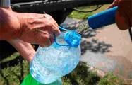 Минчанка: В магазинах нет воды, МЧС не привозит, это просто издевательство!