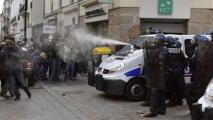 Во Франции прошли массовые протесты из-за гибели активиста-эколога