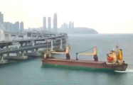 Капитан был пьян: в Южной Корее российский сухогруз врезался в мост
