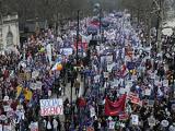Организаторы насчитали полмиллиона участников акции протеста в Лондоне