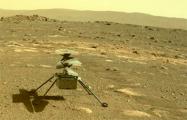 Вертолет NASA самостоятельно пережил первую морозную ночь на Марсе