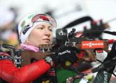 Домрачева заняла второе место в гонке преследования в Эстерсунде