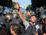 В Тунисе разогнали антиправительственную демонстрацию
