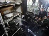 Израильcкие поселенцы подожгли мечеть на Западном берегу