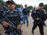 В Гондурасе полицейские напали на банк
