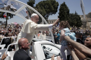 Папа пригласил лидеров Израиля и Палестины в Ватикан помолиться
