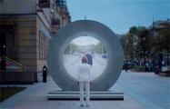 На улицах Вильнюса и Люблина появились «порталы»