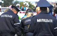На форме минских милиционеров появятся мини-видеокамеры