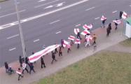 Гродненский микрорайон Ольшанка вышел на субботний марш