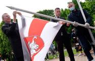 Мэр Риги: Я получил десятки тысяч благодарственных писем за поднятый бело-красно-белый флаг