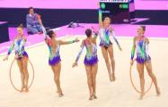 Сборная Беларуси по художественной гимнастике нанесла поражение россиянкам