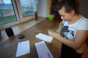 Солигорцы отправили политзаключенным открытки поддержки
