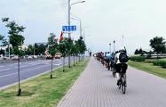 В разных районах Минска прошел Велопробеги солидарности