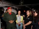 Чавес вернулся на родину после очередного курса химиотерапии