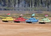 Белорусы стали первыми на втором полуфинале танкового биатлона