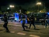 Акция протеста в Мадриде переросла в столкновение демонстрантов с полицией