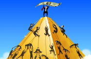Пирамида неприкасаемых в масштабах страны