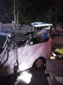 Белорусы разбились в Польше при столкновении микроавтобуса с фурой