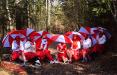 Белоруски устроили бело-красно-белую фотосессию