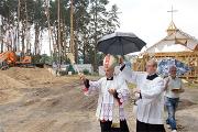 В Гомеле начали строительство нового костела