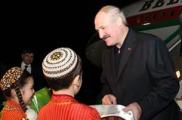 Лукашенко поехал в Туркменистан
