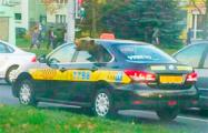 Фотофакт: По Минску ездит такси с медведем