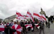 В Киеве прошел большой марш против преступного режима Лукашенко