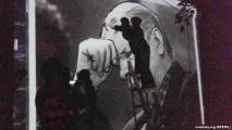 Граффитистов оштрафовали на 18 миллионов за портрет Быкова (Видео)