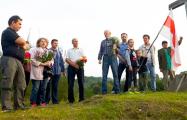 Фотофакт: Активисты на Крапивенском поле вспоминали про Оршу