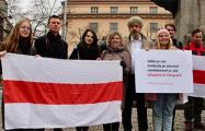 В центре Праги вновь протестовали против «интеграции» Беларуси с Россией