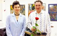 У Кіеве адкрылася пэрсанальная выстава ўдзельніка дуэту «Саша і Сірожа»