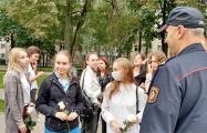 В Гомеле прошла акция в поддержку арестованного преподавателя
