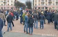 Дмитрий Бекалюк: Нужно продолжать выходить на площадь