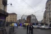 В Брюсселе после взрыва газа обрушились два жилых дома
