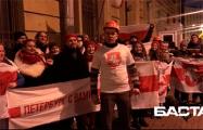 Белорусы Санкт-Петербурга 88 день подряд вышли на протест