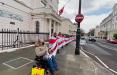 Белорусы провели акцию у посольства Норвегии с призывом отменить контракт Yara с «Беларуськалием»