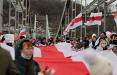 Белорусы Киева вышли на Марш в поддержку протестующих соотечественников