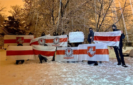 В Минске сегодня парад бело-красно-белых снеговиков