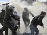 У стен греческого парламента произошли столкновения