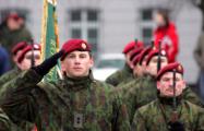 Литва увеличит число профессиональных военных в Вооруженных силах