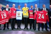 Руслан Салей и еще пять хоккеистов введены в зал славы мирового хоккея