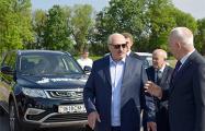 Представим картину: Лукашенко приехал в Александрию на «Джили»