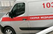 Видеофакт: В Минске «скорые» стоят в пробке из-за репетиции парада