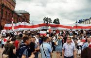 Марш единства в Могилеве: яркий фоторепортаж