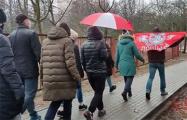 Минская Лошица вышла на дворовой марш