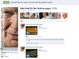 У Иоанна Павла II появился аккаунт на Facebook