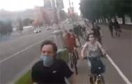 В Минске прошел велопротест против «Саши 3%»
