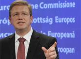Фюле: Россия должна отвести свои войска от границы с Украиной