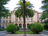 Демонстранты ворвались в резиденцию президента Абхазии