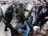 ОМОН зверски избил активистов оппозиции